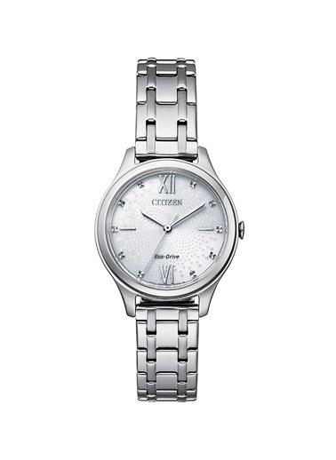 Citizen Eco-Drive Em0500-73A Kadın Kol Saati Gümüş